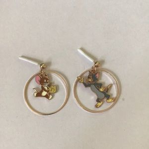 Tom and Jerry Earrings